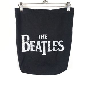 The Beatles | Black and White Canvas Tote Bag